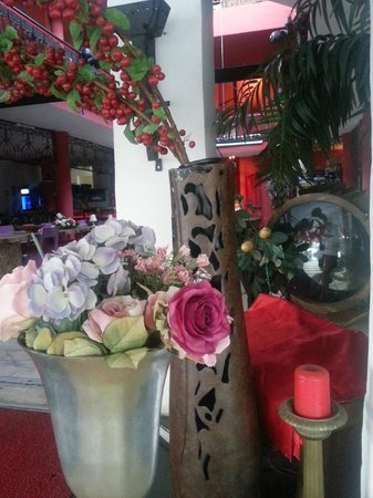 Tango Terrace Palmarina: Decoration