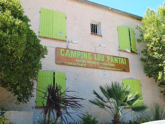 Camping Lou Pantai : ingresso camping