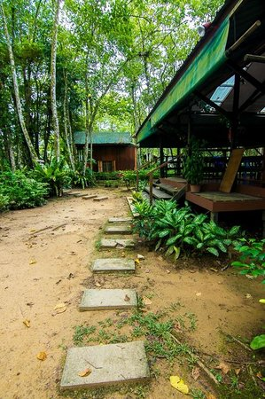 Nature Lodge Kinabatangan : Don't bring any suitcases...