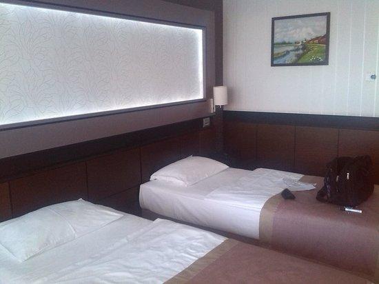 Aquaworld Resort Budapest: The beds