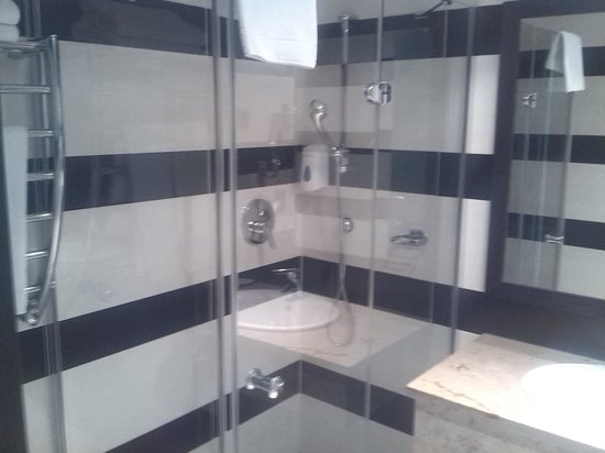 Aquaworld Resort Budapest: Bathroom