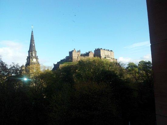 Waldorf Astoria Edinburgh - The Caledonian: View from bedroom windown