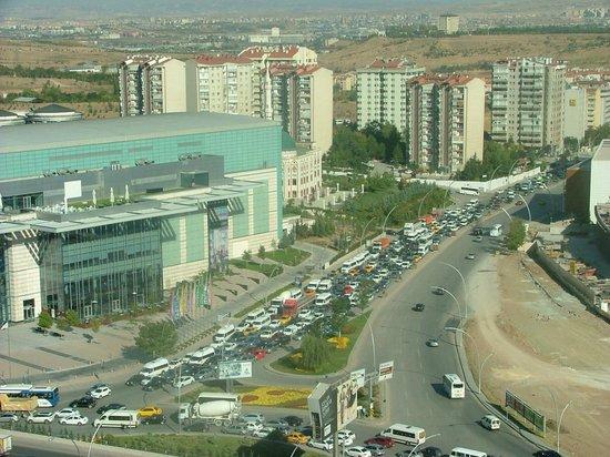 JW Marriott Hotel Ankara : vue de la chambre