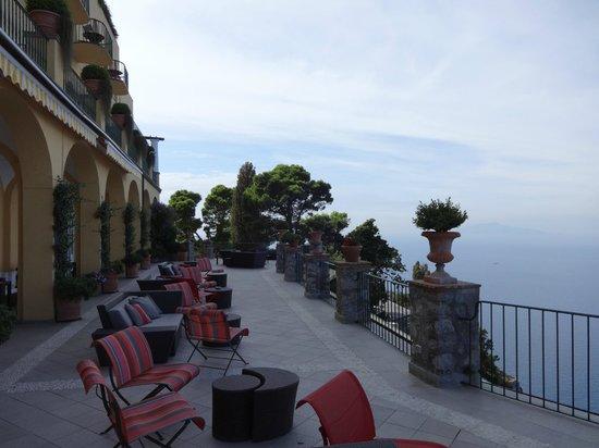 Caesar Augustus Hotel: terrasse de l hotel