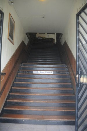 Hilo Bay Hostel: entrance