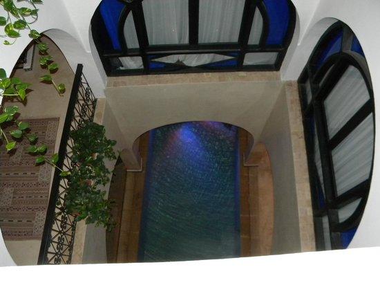 Lina Ryad & Spa: La piscine vue de notre chambre