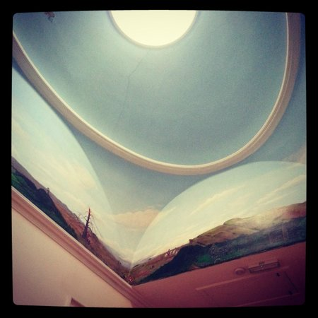 Powis House : Upper ceiling on top floor