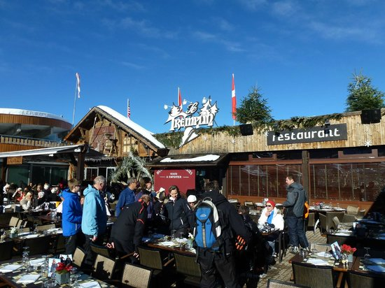 ESF Courchevel 1850 : Le Tremplin Terrasse ;