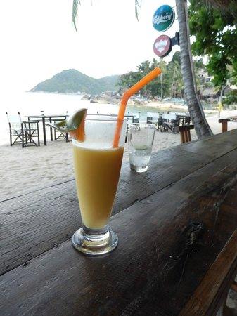 Buri Rasa Koh Phangan : MILKSHAKE MANGO FRUIT