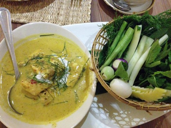 The Local: Mackerel with coconut mik