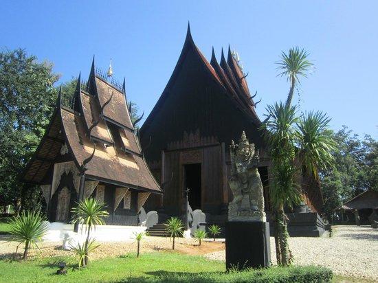 Maison noire - Baan Si Dum - Museo Baandum : Enterance to Complex