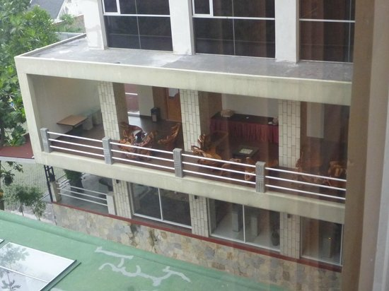 Merapi Merbabu Hotel: Next building from our room