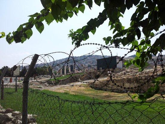 Agora Open Air Museum: Вид со стороны забора
