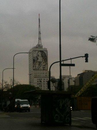 Gran Hotel Argentino: Foto de Evita Peron