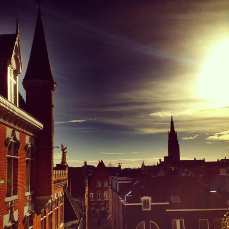 Hotel Dukes' Palace Bruges: View from the Steeple
