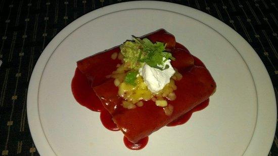 The Mexican : 3 Enchiladas :-\