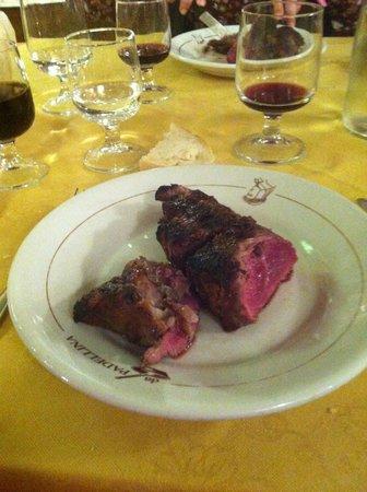 Ristorante da Padellina: Bisteca a la Fiorentina