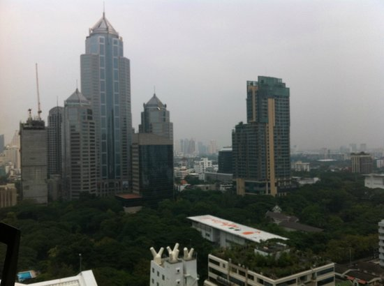 Cape House, Bangkok : View from our studio apartment