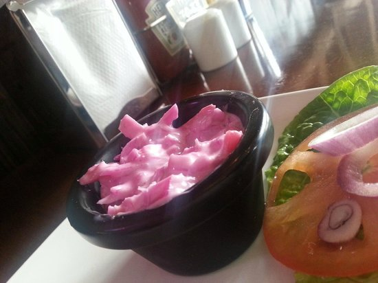 Herbie's American Bar & Grill: our new homemade coleslaw