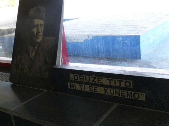Museum Battle for the Wounded on Neretva River: display inside the Museum