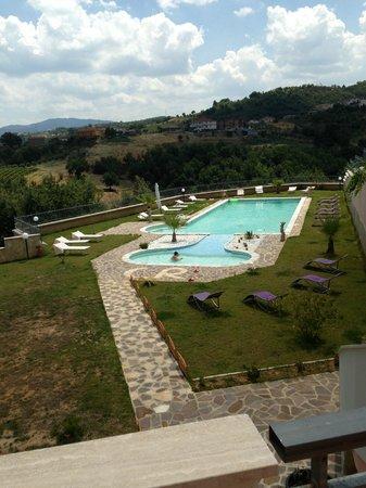 Chimento Resort: Vista dagli Appartamenti