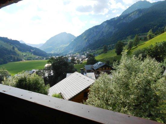 Hotel Le Chabi : Vue balcon