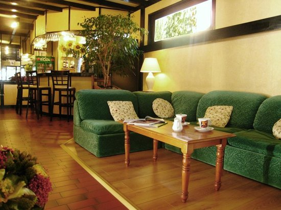 Hotel Le Chabi : Salons communs