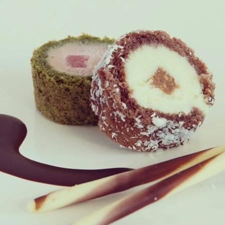 Bokoto Lleida: Sweet Sushi roll xoco i maduixa!!!