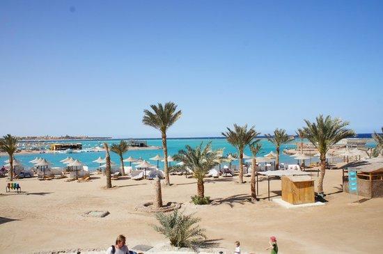 Club Azur Resort : Пляж в отеле