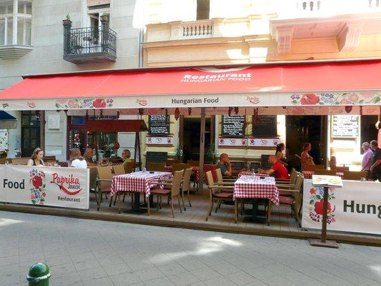 Paprika Restaurant Budapest Review