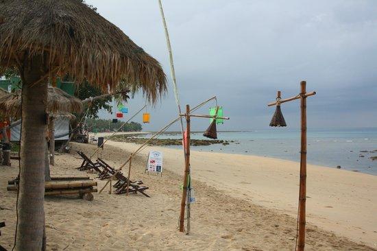 Coco Lanta Resort : La spiaggia