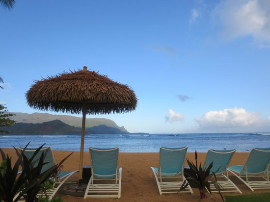 St. Regis Princeville Resort: From the pool