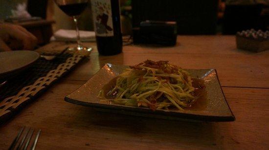 Putumayo: 青パパイヤのサラダ