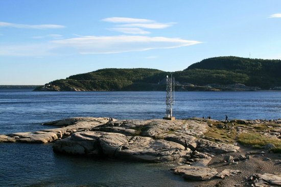 Sentier de la Pointe-de-l'Islet Trail : Hier kann man Wale beobachten