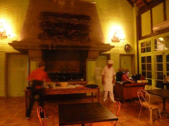 L'Auberge : Cocina