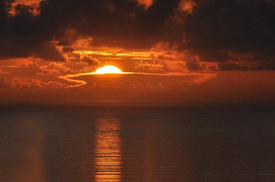 Le Sans Souci Guesthouse: Lever de soleil