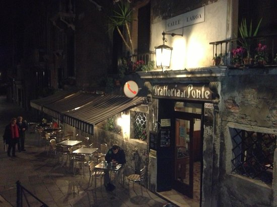 Trattoria Al Ponte del Megio: Best place and one of the best meals!