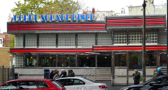 Court Square Diner Picture Of