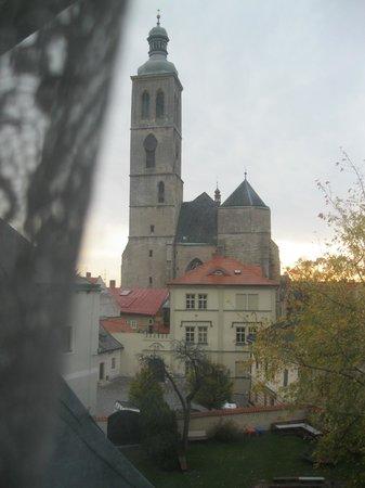 Hotel U Hrncire: из окна