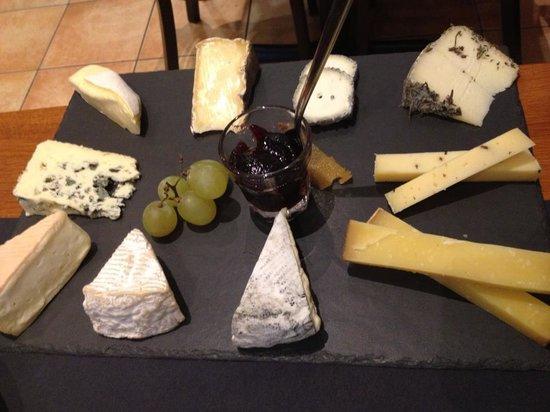 L'Affineur' Affiné : assiette de fromage
