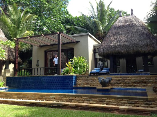 MAIA Luxury Resort & Spa: the villa from the garden