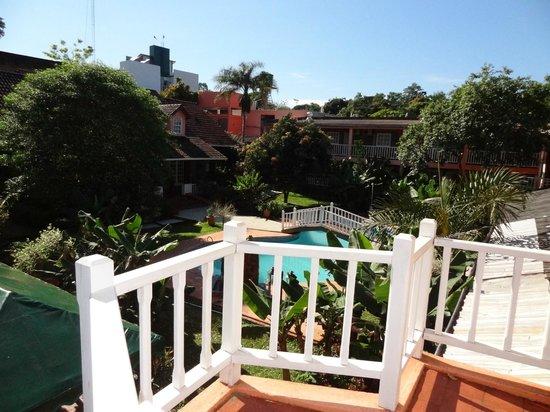 La Sorgente Hotel Posada : Vista desde el balcon de la habitacion