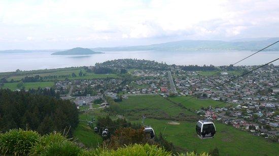 Skyline Rotorua: Skyline Gondola View