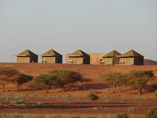 Meroe Tented Camp: The tents