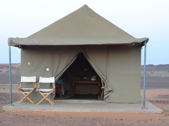 Meroe Tented Camp: One of the tents