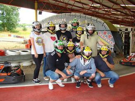 Camping du Lac : Karting party with the camp