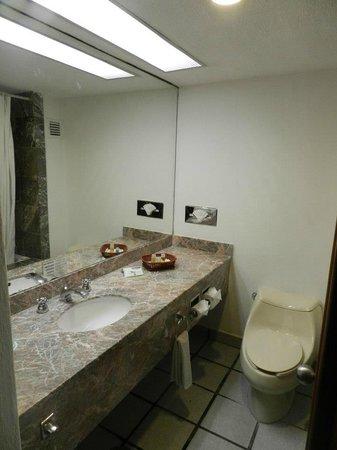 Flamingo Cancun Resort: ...il bagno...