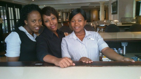 Southern Sun Katherine Street Sandton: The friendly staff of Kelsey, that also makes me come back
