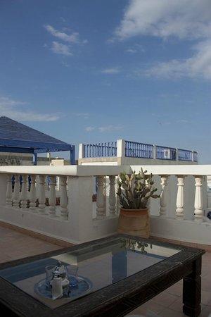 Emeraude Hotel : Da zona colazione