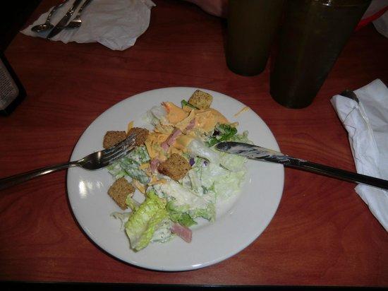 Ponderosa Steakhouse: Zelfgemaakte salade van buffet